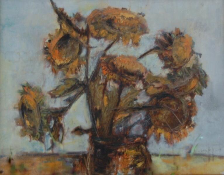 Sonnenblumen verblüht