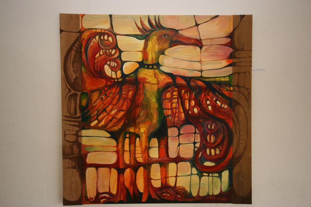 Gebändigter-Feuervogel
