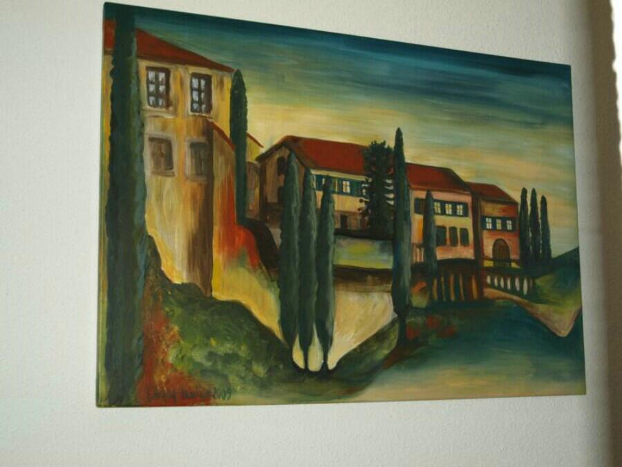 Toskanische Landschaft II