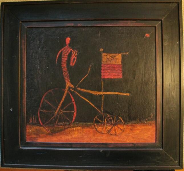 Dreiradfahrer