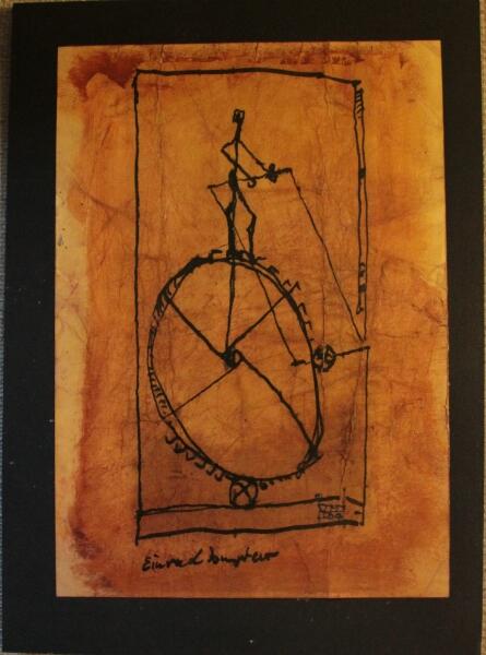 Einradfahrer